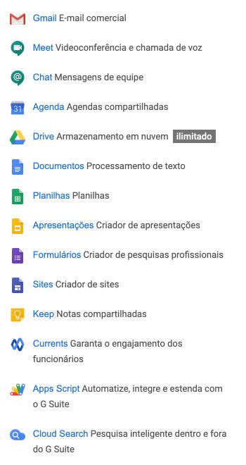 Apps G Suite